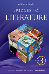 Bridges to Literature  Student Edition Level 3-9780618905874