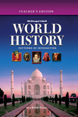 Holt McDougal World History: Patterns of Interaction © 2008 New York Teacher Edition
