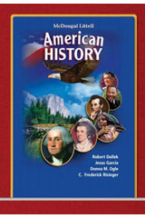 McDougal Littell American History © 2008 New York Student Edition-9780618913022