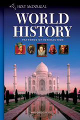 Holt McDougal World History: Patterns of Interaction © 2008 New York Student Edition