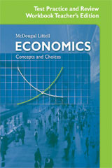 Economics: Concepts and Choices McDougal Littell Assessment System (MLAS) (1-year subscription)