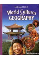 McDougal Littell World Cultures and Geography © 2008  Student Edition-9780618921676