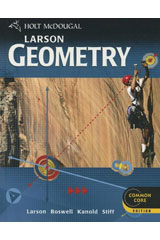 Holt McDougal Larson Geometry  Student Edition-9780618923298