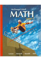 McDougal Littell Math  Student Edition Course 1-9780618927258