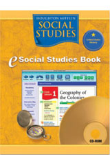 Houghton Mifflin Social Studies 6 Year Online Student Edition Grade 4 States and Regions-9780618929375