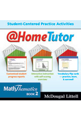 MathThematics  @HomeTutor CD-ROM Book 2-9780618946006