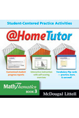 MathThematics  @HomeTutor CD-ROM-9780618950775