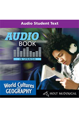 McDougal Littell Middle School World Cultures and Geography  Audio Book in Spanish-9780618961245