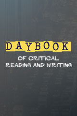 Daybook of Critical Reading and Writing  Student Edition 5-pack World Literature World Literature-9780669009330