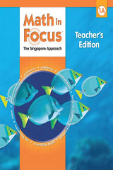 Math in Focus: Singapore Math  Teacher's Edition, Book A Grade 1-9780669013153