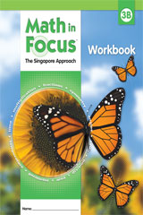 Math in Focus: Singapore Math  Student Workbook, Book B Grade 3-9780669013238