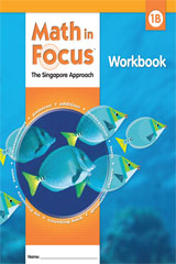 Math in Focus: Singapore Math  Student Workbook, Book B Grade 1-9780669013252