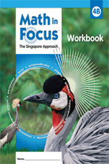 Math in Focus: Singapore Math  Student Workbook, Book B Grade 4-9780669013337