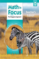Math in Focus: Singapore Math  Teacher's Edition, Book A Grade 5-9780669013818
