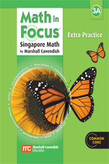 Math in Focus: Singapore Math  Extra Practice, Book A Grade 3-9780669015713