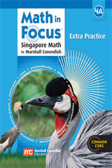 Math in Focus: Singapore Math  Extra Practice, Book A Grade 4-9780669015911