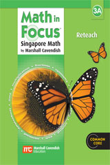 Math in Focus: Singapore Math Reteach Workbook Grade 3 Book A ...