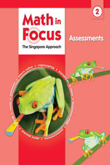 Math in Focus: Singapore Math Assessments Grade 2