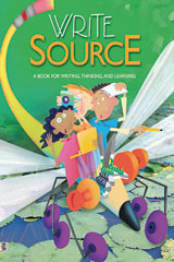 Write Source  Student Book eEdition DVD Grade 4-9780669020861