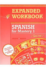 Spanish for Mastery  Expanded Workbook Level 1-9780669313390