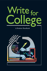 Write for College  Softcover College Handbook-9780669444025