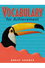 Vocabulary for Achievement Teacher's Edition Grade 4
