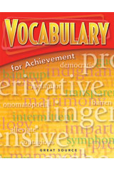 Vocabulary for Achievement Student Book 5-Pack Grade 6 (Introductory Course)