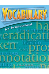 Vocabulary for Achievement  Student Book 5-Pack Grade 9 (Third Course)-9780669520460