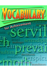 Vocabulary for Achievement  Student Book 5-Pack Grade 11 (Fifth Course)-9780669520484