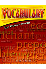 Vocabulary for Achievement Student Book 5-Pack Grade 12 (Sixth Course)