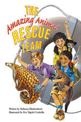 Steck-Vaughn Pair-It Books Fluency Stage 4  Individual Student Edition The Amazing Animal Rescue Team-9780739808603