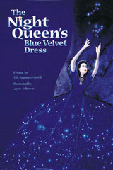 Steck-Vaughn Pair-It Books Proficiency Stage 5  Individual Student Edition The Night Queen's Blue Velvet Dress-9780739808702