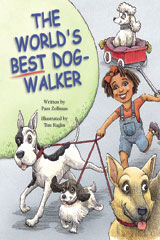 Steck-Vaughn Pair-It Books Proficiency Stage 5  Individual Student Edition The World's Best Dog-Walker-9780739808726