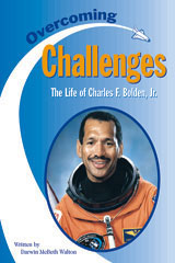 Steck-Vaughn Pair-It Books Proficiency Stage 5  Individual Student Edition Overcoming Challenges: The Life of Charles F. Bolden, Jr.-9780739808795