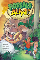 Steck-Vaughn Pair-It Books Proficiency Stage 5  Leveled Reader 6pk Fossils Alive!-9780739808955