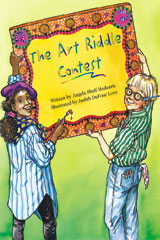 Steck-Vaughn Pair-It Books Proficiency Stage 5  Leveled Reader 6pk The Art Riddle Contest-9780739808979