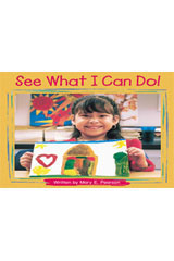 Steck-Vaughn Pair-It Books Foundation  Big Book See What I Can Do!-9780739844458