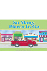 Steck-Vaughn Pair-It Books Foundation  Big Book So Many Places to Go-9780739844526