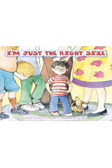 Steck-Vaughn Pair-It Books Foundation  Leveled Reader 6pk I'm Just the Right Size-9780739844649