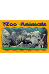 Steck-Vaughn Pair-It Books Foundation  Individual Student Edition Zoo Animals-9780739844816