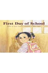 Steck-Vaughn Pair-It Books Foundation  Individual Student Edition First Day of School-9780739844908