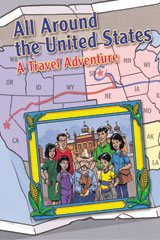 Steck-Vaughn Pair-It Books Proficiency Stage 6  Leveled Reader 6pk All Around the United States: A Travel Adventure-9780739862056