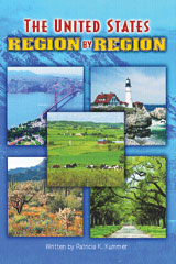 Steck-Vaughn Pair-It Books Proficiency Stage 6  Leveled Reader 6pk The United States: Region by Region-9780739862063