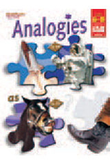 Analogies  Reproducible Grades 6-8-9780739869086