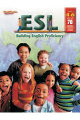 ESL: Building English Proficiency  Reproducible Grades 4-6-9780739870983