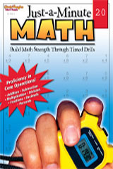Just-a-Minute Math  Reproducible Grades 1-8-9780739879405