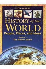 History of Our World  Teacher Edition, Volume 2 The Modern World-9780739879511