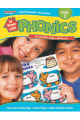 At Home with Phonics  Reproducible Grade 1-9780739879566