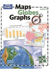 Maps, Globes, Graphs  Student Edition Level D-9780739891049