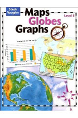 Maps, Globes, Graphs  Student Edition Level E-9780739891056